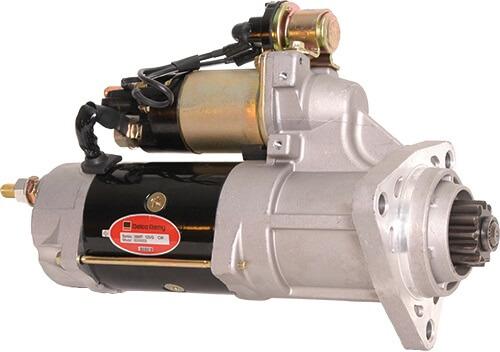 Motor Partida Scania Serie 4 Serie 5 24V 11 Dentes Delco