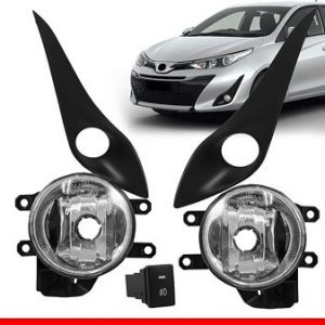 Kit Farol Milha Yaris 2018 c/ Interruptor Original