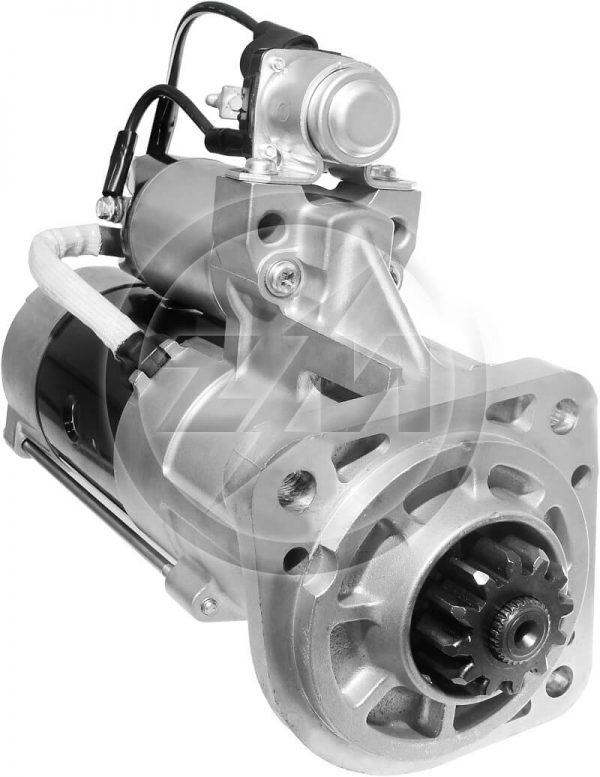 Motor Partida 13180 17210 15180 VM Mitsubishi 24V 12 Dentes
