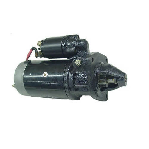 Motor Partida Case New Holland Tratores 12V Iskra 10 Dentes