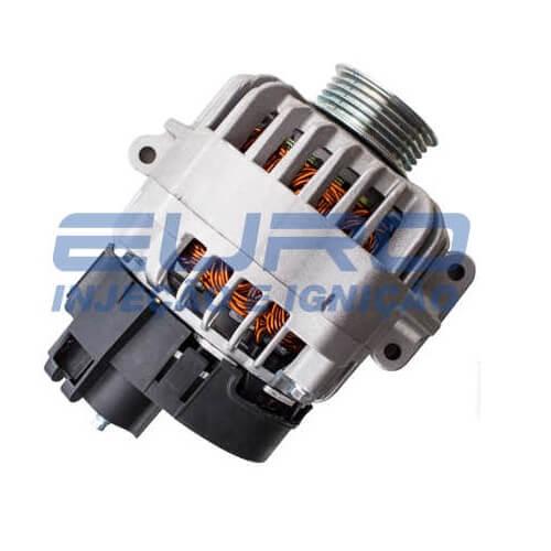 Alternador Uno Siena Idea Strada 02/… 12v 90Amp. Bosch