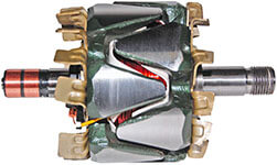 Rotor Palio Siena Strada Uno Marea 12V 90Amp Magneti Marelli