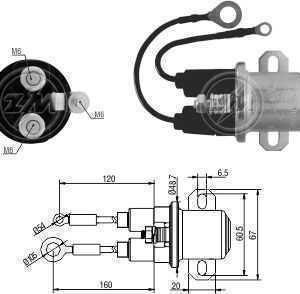 AUTOMATICO AUX. MP DELCO 29MT 24V CASE/FIAT ALLIS/MB 1218/2423/2428