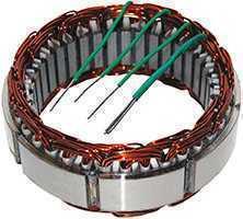 Estator F1000 F4000 F11000 Motor MWM 12V 55Amp. Bosch