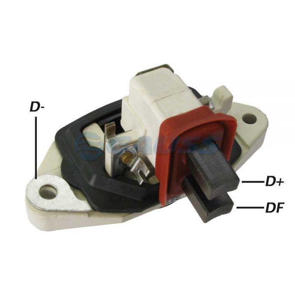 Regulador Voltagem Case 110 120 135 180 181 182 Bosch 1997 em diante