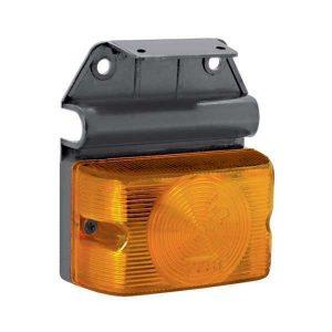 Lanterna Lateral c/ Suporte Universal Amarela