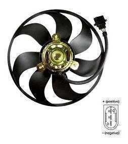ELETROVENTILADOR VW GOLF G4 POLO FOX SPACEFOX C/AR