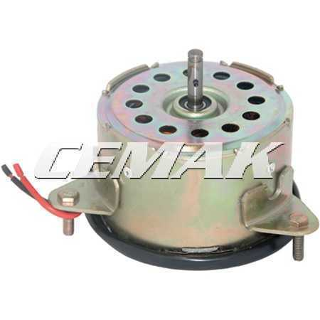 Motor Eletroventilador Universal Eixo Fixo 12V