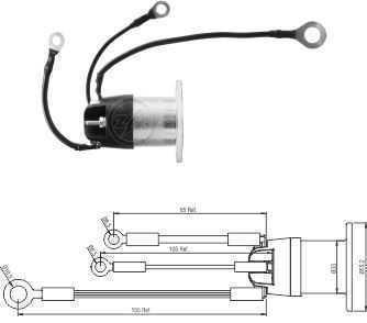 AUTOMATICO AUX. MP FORD/SCANIA 2423/2422/1722/R340/R270 BOSCH