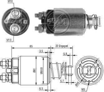 Automatico Magneti Marelli Iveco Allis