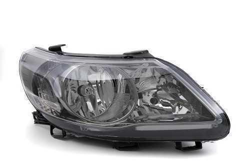 FAROL VW GOL G5 H7/H1 MOLDURA CROMO-ONIX DEFLETOR LOGO VW LE