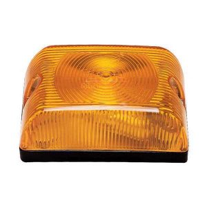Lanterna Adaptação Retangular Universal Amarela