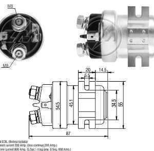 AUTOMATICO AUX. MP 12V