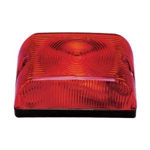 Lanterna Adaptação Retangular Vermelha
