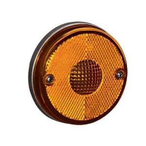 Lanterna Lateral Amarela Randon s/ Suporte