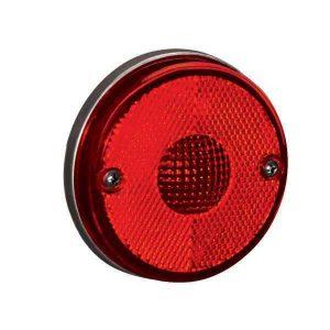 Lanterna Lateral Randon pequena s/ Suporte Vermelha