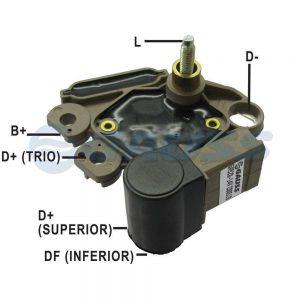 REG. VOLT. ALT. GM/NISSAN S10/FRONTIER/CORSA/ASTRA/VECTRA 12V VALEO