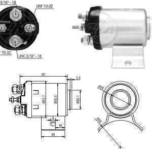 Automatico Ford Clark/Hyster MF F350 Bosch