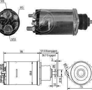 Automatico MF MB New Holland 1620/1720/710/Tratores Delco