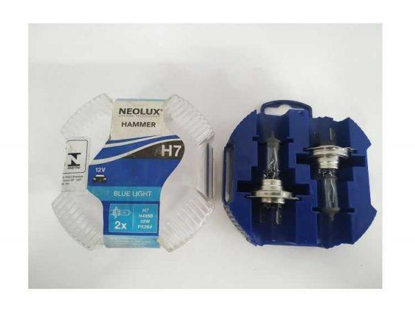 Lâmpada Iodo H7 12V 55W Azul Osram Neo Lux