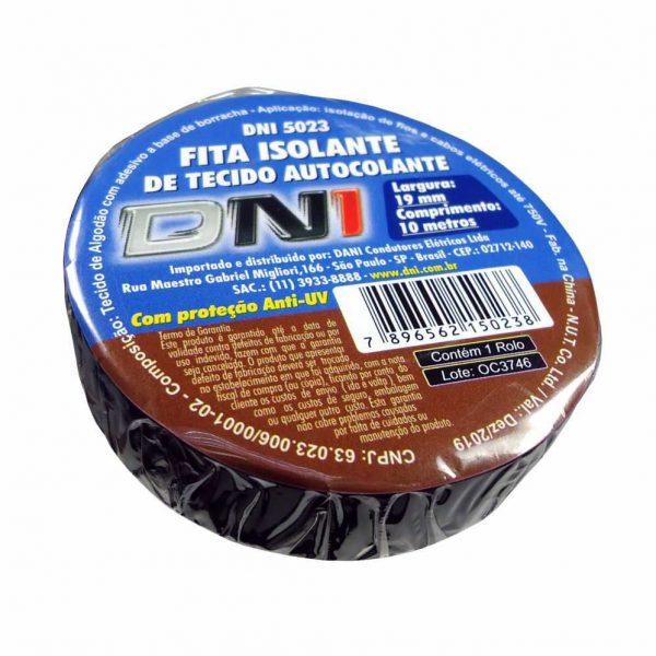 Fita Isolante Tecido 10mts C/Cola 19mmx10