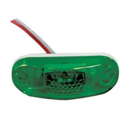 Lanterna Dianteira Adaptador Placa Led Verde