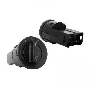 Chave Luz Gol G3/G4/Golf 99 C/Farol Neblina E Lanterna T