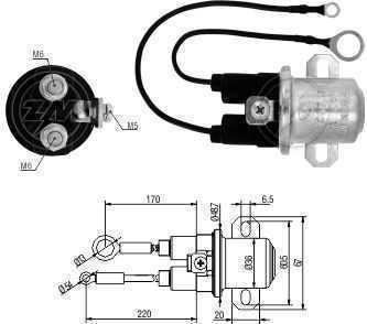 Automatico Auxiliar Delco 38MT 12V Case Cummins/Ford
