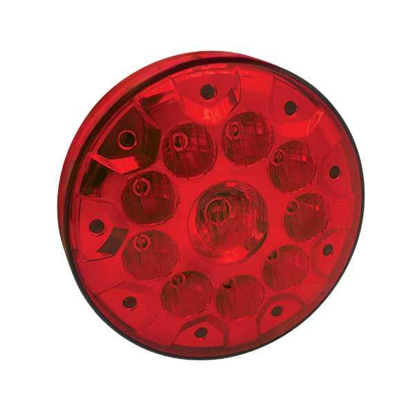 Lanterna Adaptador Redonda 10 Led'S 155mm VM