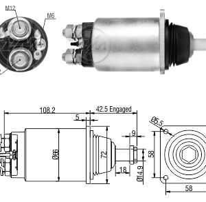 Automatico MB Case 16210/W36 JE 12V