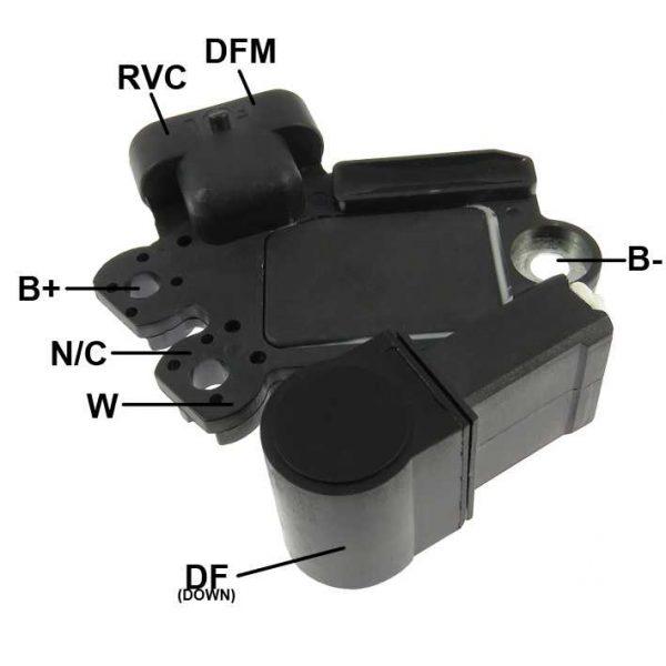 Regulador Voltagem Captiva Cobalt Malibu 12V Valeo