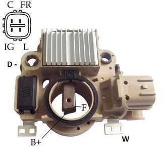 Regulador Voltagem Honda Fit Civic 12V Mitsubishi