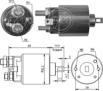 Automatico C20/Silverado C Series 12V Lucas