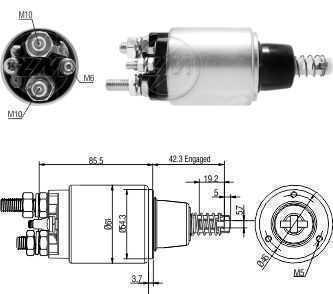 Automatico Ford 1722/2422/2429/2628/1722 24V Bosch