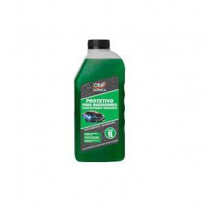Aditivo Para Radiador Organico 1L Verde Evita Aquecimento