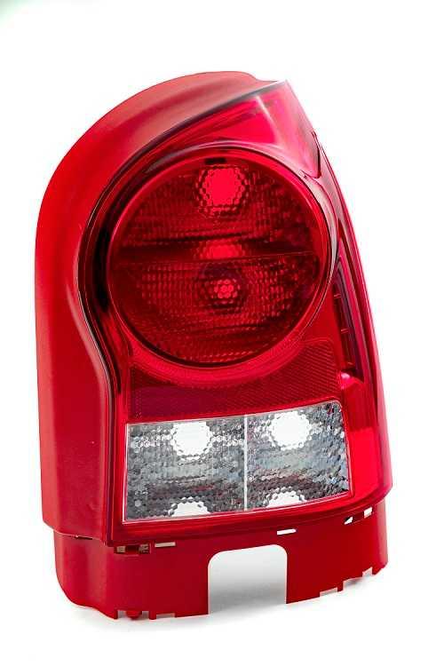 Lanterna Traseira Gol G4 LD Carcaça VM Re Cr