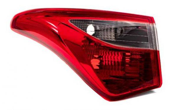 Lanterna Traseira Hyundai HB20 Hatch HB20X 13/18 Canto Le