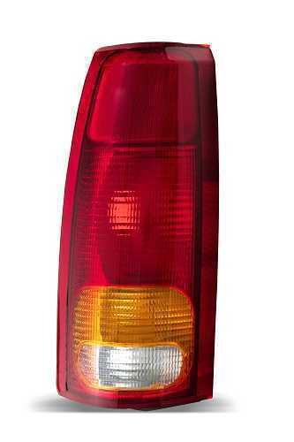 Lanterna Traseira Silverado 97/02 Le