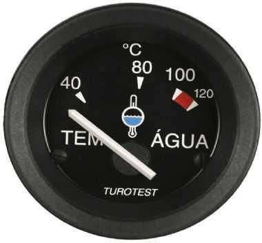 Relogio Temperatura Eletrico 52 mm 12V MF (40° – 120°)