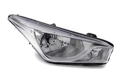 Farol Hyundai HB20 14/18 LD Moldura Metalizada