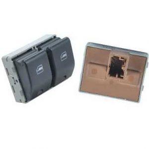 Interruptor Vidro Eletrico Fox Gol G4/G5/G6 Duplo