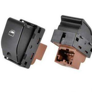 Interruptor Vidro Eletrico Fox Polo Gol G4/G5/G6 Simples