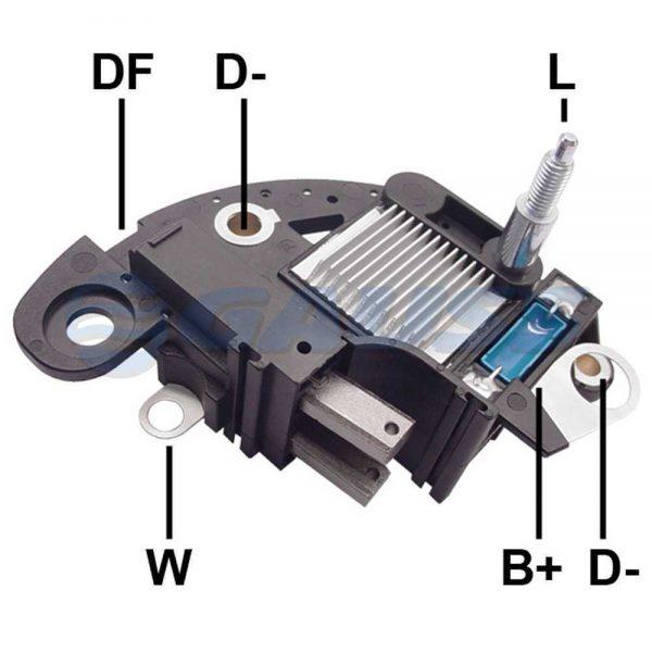 Regulador Voltagem Palio Punto Tempra Selecta 12V Marelli