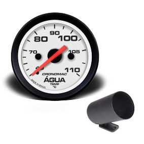 Relogio Temperatura MB 60mm Mecanico 1,50mts